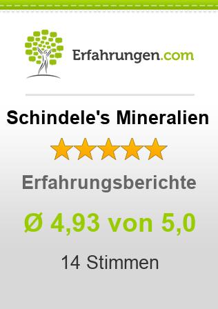 Schindele's Mineralien Erfahrungen