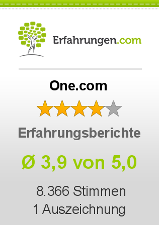 One.com Erfahrungen