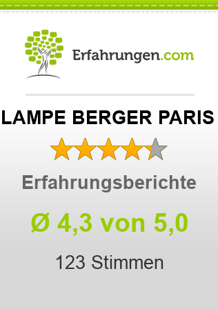 lampe berger paris erfahrungen aus 109 bewertungen 4 3 5 im test. Black Bedroom Furniture Sets. Home Design Ideas