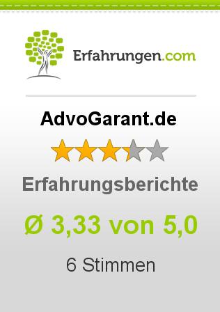 AdvoGarant.de Erfahrungen