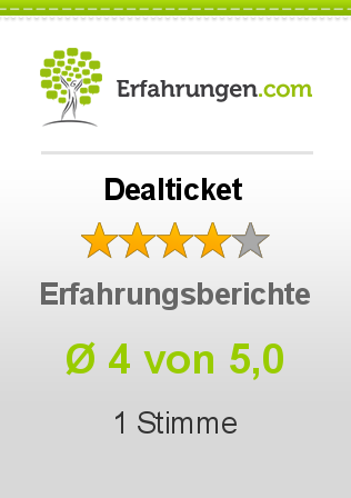Dealticket Bewertungen