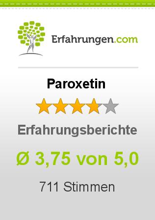 Paroxetin Erfahrungen