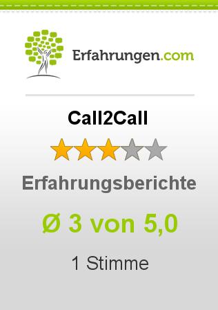 Call2Call Erfahrungen