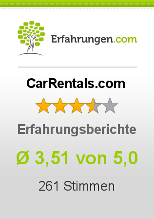 CarRentals.com Bewertungen