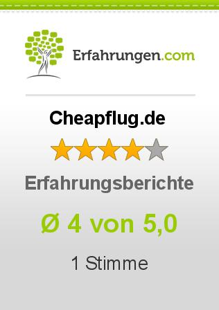 Cheapflug.de Erfahrungen