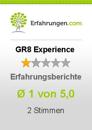 GR8 Experience Erfahrungen