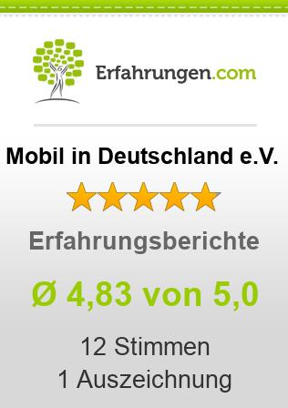 Mobil in Deutschland e.V. Erfahrungen