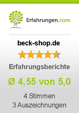 beck-shop.de Erfahrungen