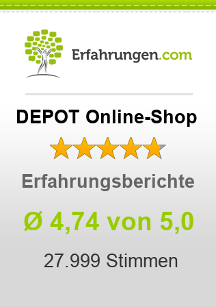 DEPOT Online-Shop Erfahrungen