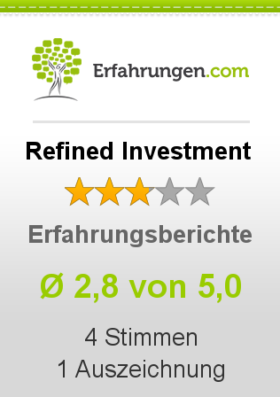 Refined Investment Erfahrungen