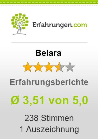 ᐅ Belara Erfahrungen aus 232 Bewertungen » 3.5/5 im Test