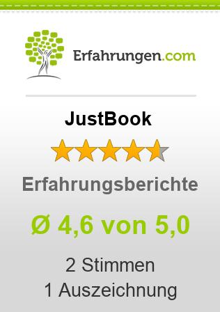JustBook Erfahrungen