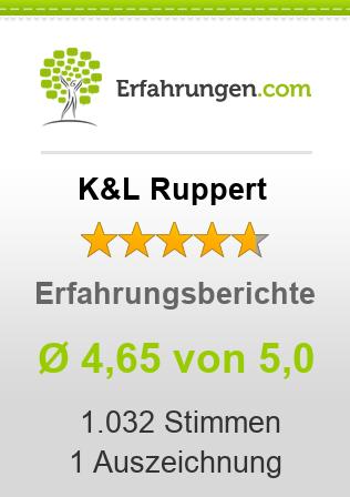 K&L Ruppert Erfahrungen