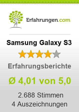 Samsung Galaxy S3 Erfahrungen