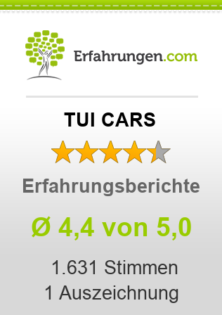 TUI CARS Erfahrungen