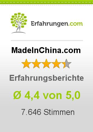 MadeInChina.com Erfahrungen