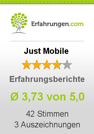 Just Mobile Bewertungen