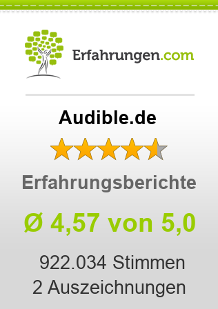 Audible.de Bewertungen