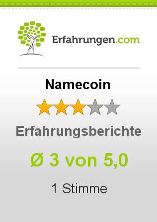 Namecoin Erfahrungen