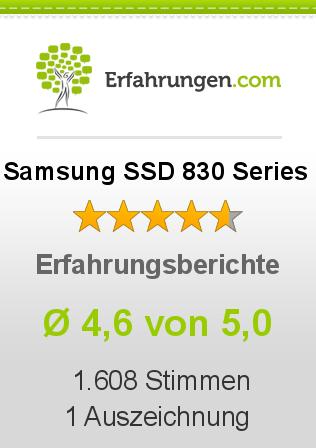 Samsung SSD 830 Series Erfahrungen