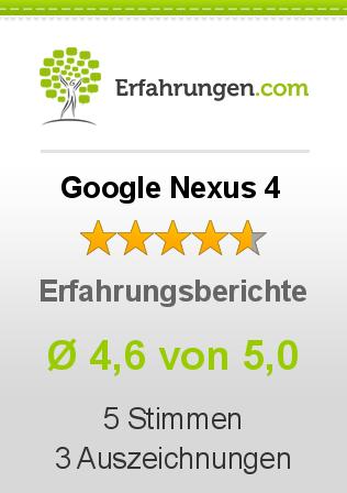 Google Nexus 4 Erfahrungen