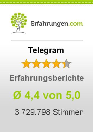 Telegram Erfahrungen