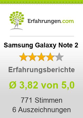Samsung Galaxy Note 2 Erfahrungen