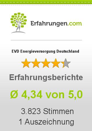 EVD Energieversorgung Deutschland Erfahrungen