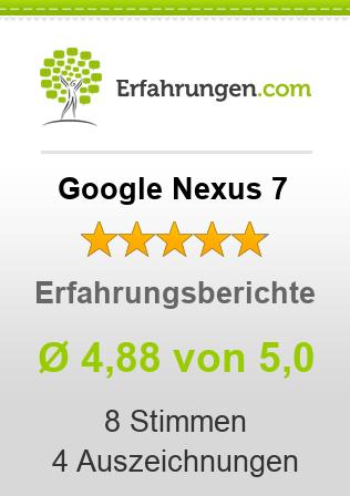Google Nexus 7 Erfahrungen