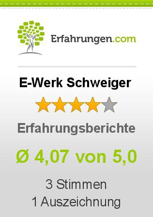 E-Werk Schweiger Erfahrungen