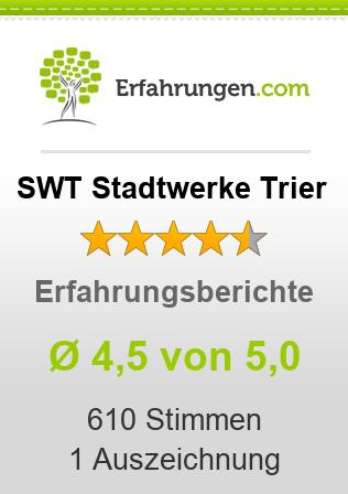 SWT Stadtwerke Trier Erfahrungen