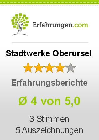 Stadtwerke Oberursel Erfahrungen