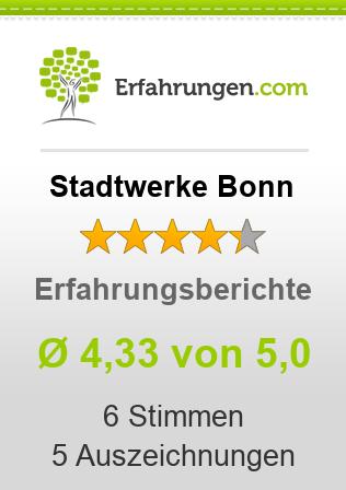 Stadtwerke Bonn Erfahrungen