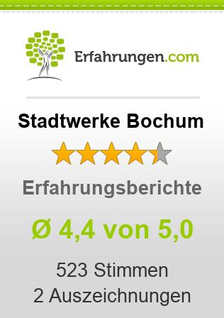 Stadtwerke Bochum Erfahrungen