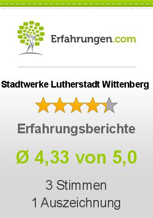 Stadtwerke Lutherstadt Wittenberg Erfahrungen