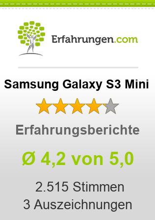Samsung Galaxy S3 Mini Erfahrungen