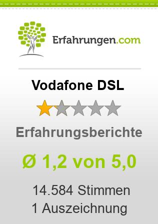 Vodafone DSL Erfahrungen