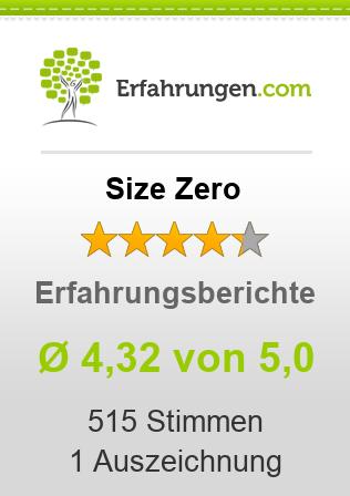 Size Zero Erfahrungen
