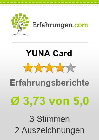 YUNA Card Erfahrungen