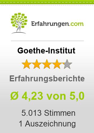 Goethe-Institut Erfahrungen