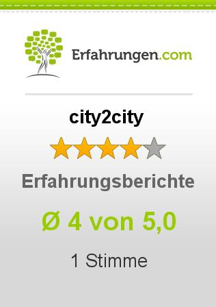city2city Erfahrungen