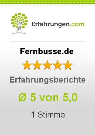 Fernbusse.de Erfahrungen