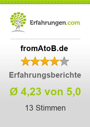 fromAtoB.de Erfahrungen