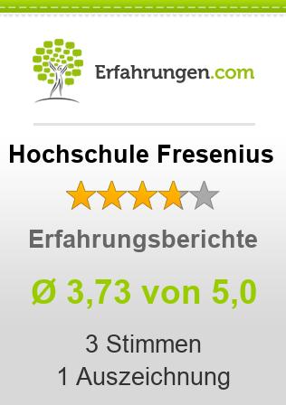 Hochschule Fresenius Bewertungen