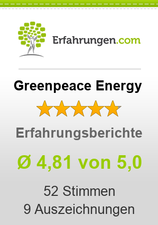 Greenpeace Energy Bewertungen