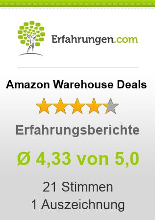 Amazon Warehouse Deals Erfahrungen