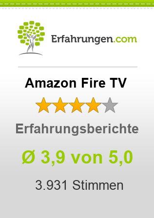 Amazon Fire TV Erfahrungen