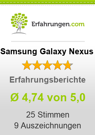 Samsung Galaxy Nexus Bewertungen