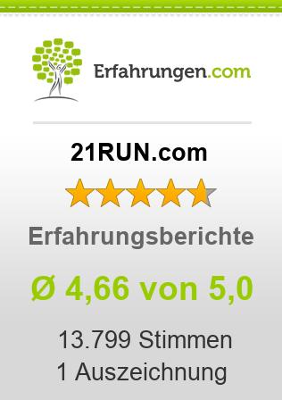 21RUN.com Erfahrungen