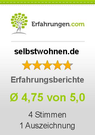 selbstwohnen.de bei Erfahrungen.com